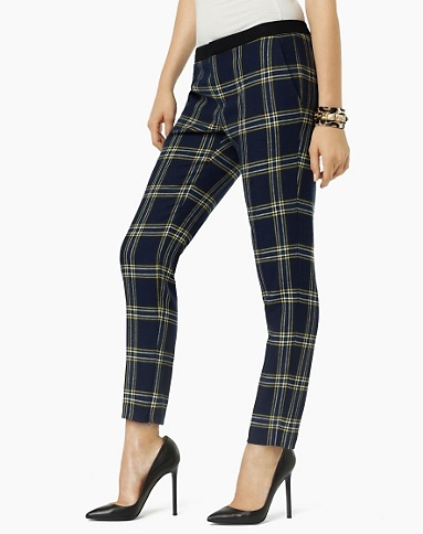 These Juicy Couture Eton Plaid Pants ($198) — which Kristen Stewart also owns — would be a stylish addition to any Fall and Winter closet. Because the print is a statement in and of itself, all you need to add are a slick shoe and a casual top. — Additional reporting by Marisa Tom