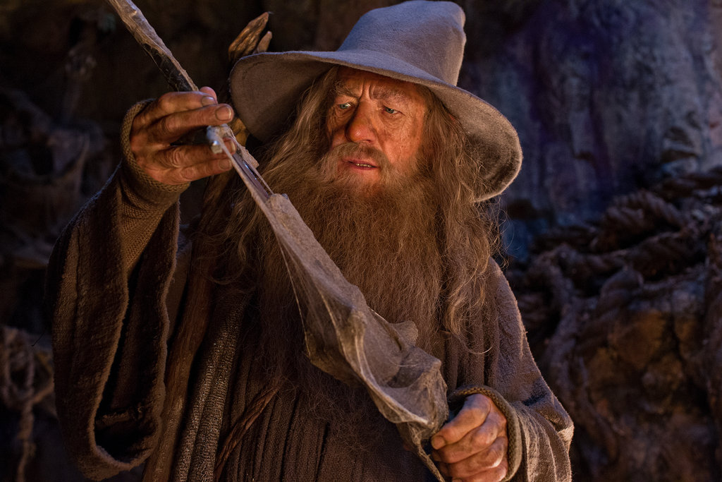 Ian McKellan in The Hobbit: An Unexpected Journey.