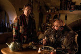 Martin Freeman and Graham McTavish in The Hobbit: An Unexpected Journey.