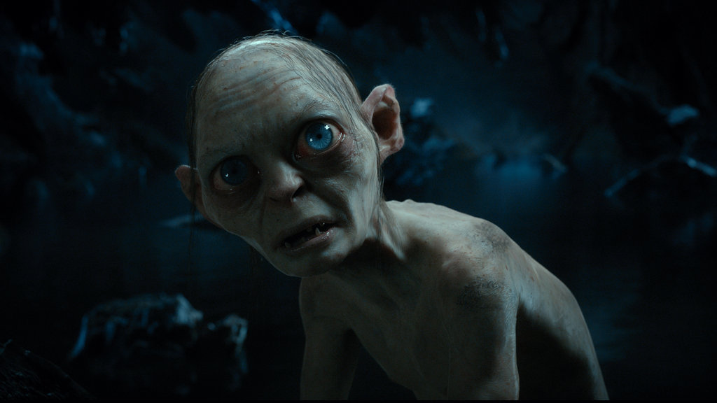Gollum from The Hobbit: An Unexpected Journey.