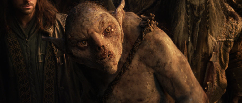 A creature in The Hobbit: An Unexpected Journey.
