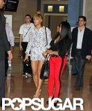 Beyoncé Knowles went to Art Basel in Miami.