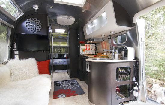 Modern Airstream Interiors