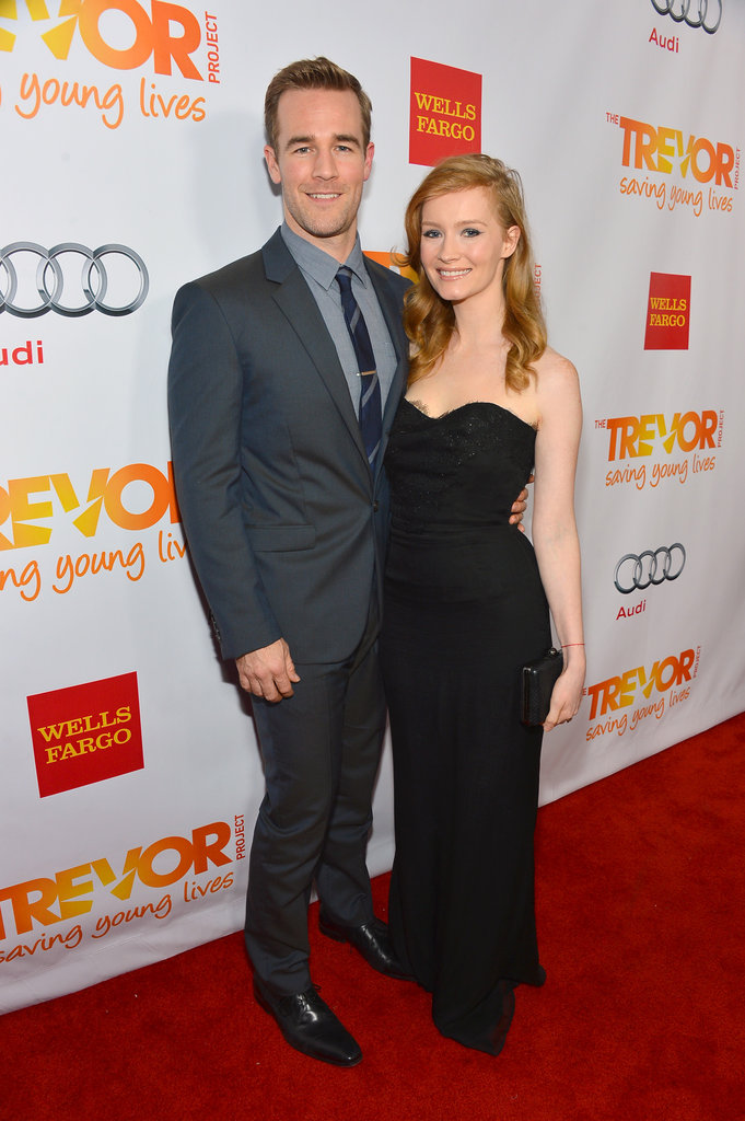 James Van Der Beek and his wife, Kimberly, had their second child, son Joshua Van Der Beek, in March.
