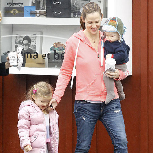 Jennifer Garner at Breakfast With Samuel and Sera | Pictures