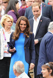 Kate Middleton and Prince William checked out Olympic tennis in July in London.