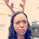 Aisha Tyler got into the holiday spirit. Source: Instagram user aishatyler