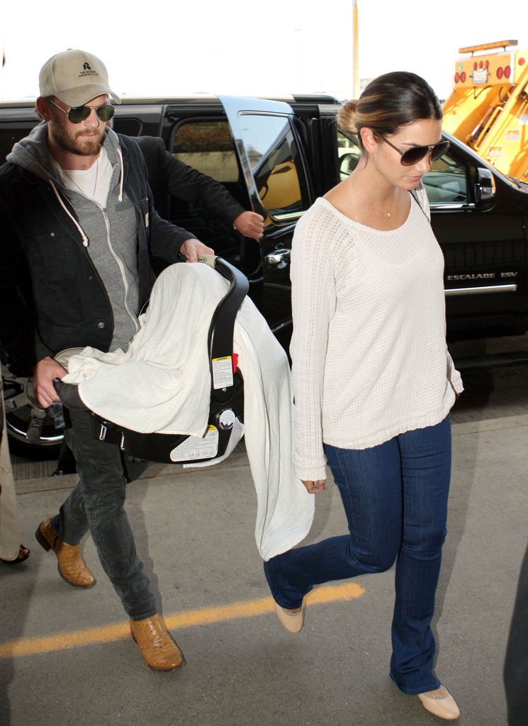 In June, Lily Aldridge and Caleb Followill welcomed baby Dixie Pearl Followill.