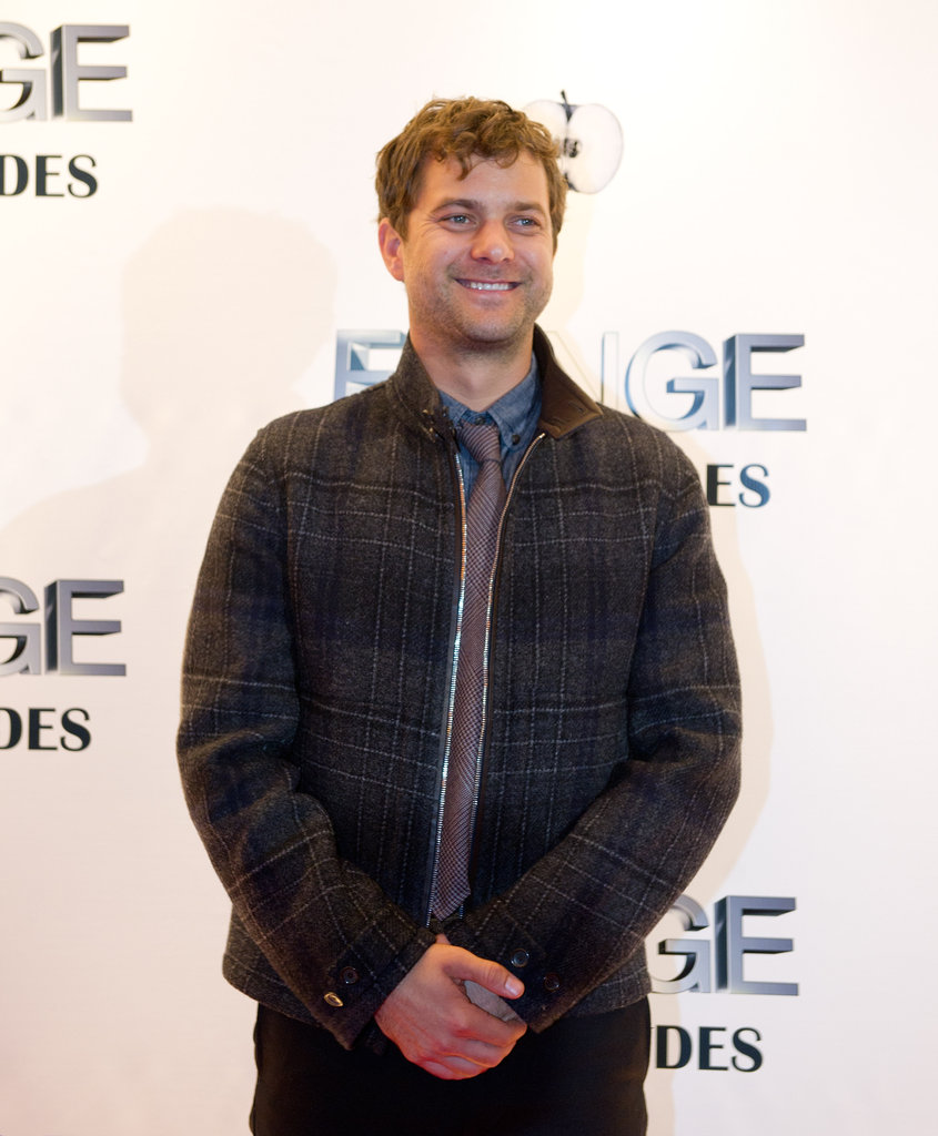 Joshua Jackson stepped out in Vancouver.