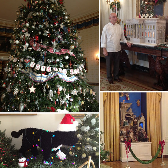 Take a Tour of the White House Holiday Decorations With Us!