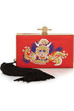 Enter the dragon. Not really, but how lovely is this Jason Wu embroidered clutch ($1,675)? From the luxurious tassel to chic gold hardware, this is the ultimate must-have clutch of the season. — Chi Diem Chau, associate editor