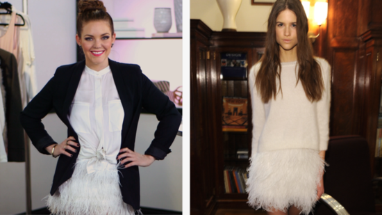 DIY: Make Your Own Feathered Skirt!