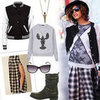 How to Dress Grungy Winter 2012