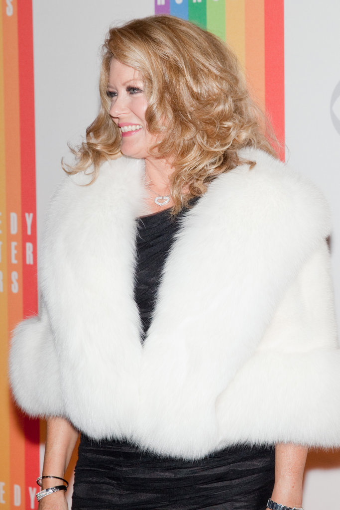 Mary Hart attended the Kennedy Center Honors.