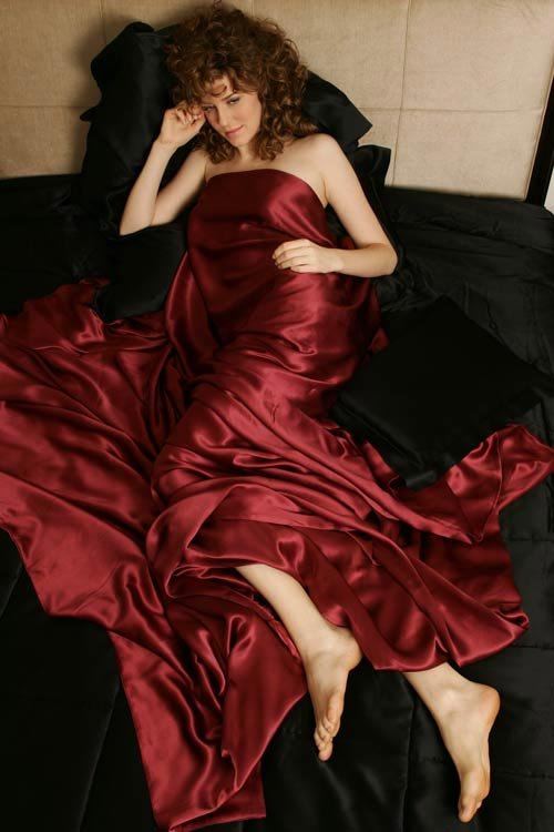 Red Silk Sheets