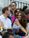 Kate gave her husband a sweet look during the 2012 Olympics.