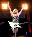 Ke$ha performed at Jingle Ball.