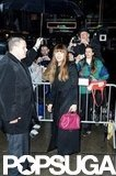 Jessica Biel arrived at Good Morning America.