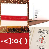 18 Geeky Holiday Cards (Not Sent From an iPhone)