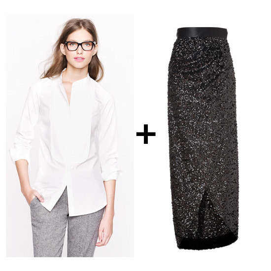We Did the Math — These Are the Best Holiday Skirt + Top Combos