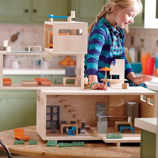 Land of Nod Modern Dollhouse