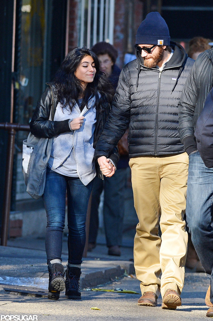 In November, Jake Gyllenhaal held hands with a new love interest in NYC.