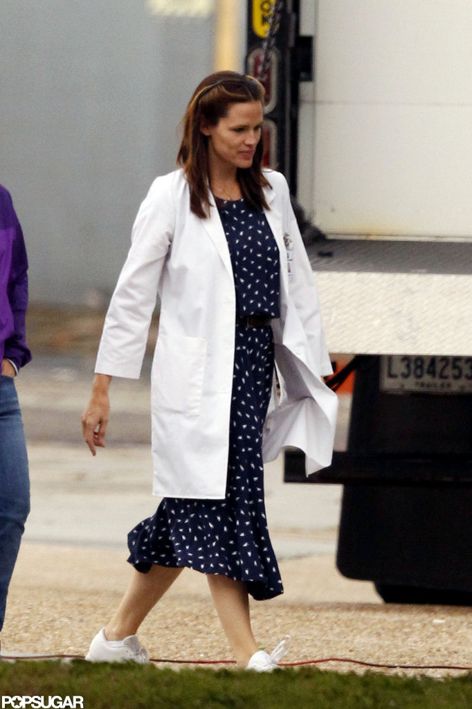 Jennifer Garner was on the set of The Dallas Buyers Club New Orleans.