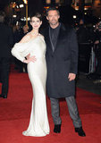 Anne Hathaway wore a Givenchy gown for the London premiere.