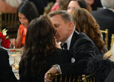 Daniel Craig sweetly kissed Rachel Weisz at the BAFTA Los Angeles Britannia Awards in November.