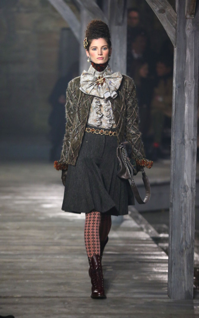 Chanel Goes Scottish For Its Métiers d'Art Pre-Fall Runway Show