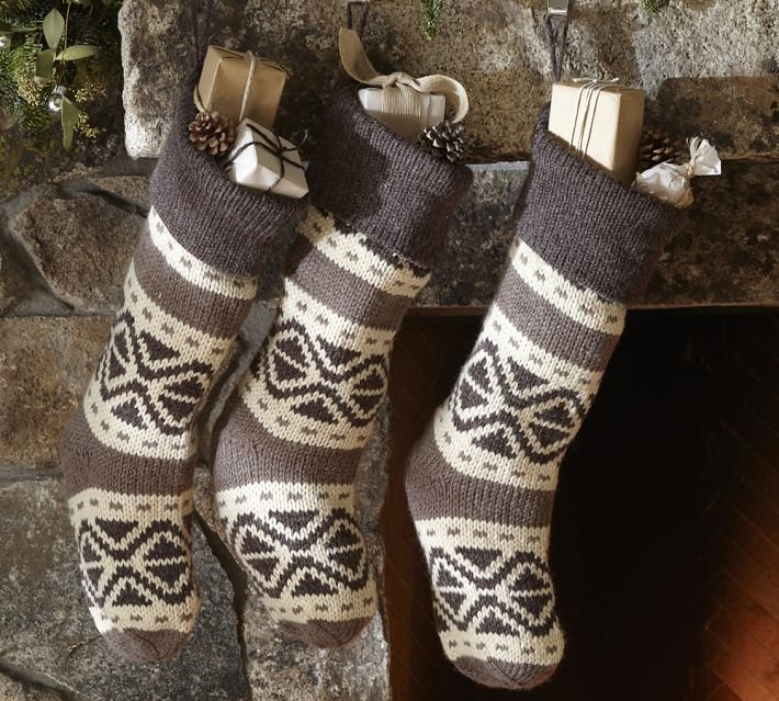 Pottery Barn Fair Isle Stocking