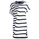 I really like oversized T-shirt dresses for the beach because they're so easy. Stripes give a nautical feel and also won't highlight any wet patches from my swimmers! — Jess, PopSugar editor Dress, approx $274, Marc by Marc Jacobs at Far Fetch