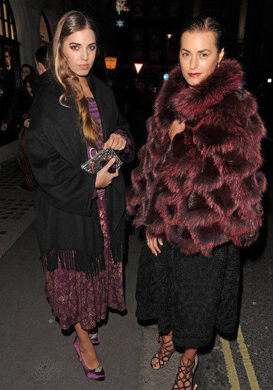 Amber Le Bon and Yasmin Le Bon