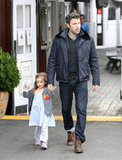 Ben Affleck and daughter Seraphina grab some breakfast in Brentwood, CA.