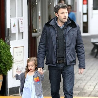 Ben Affleck and Seraphina in Brentwood | Pictures
