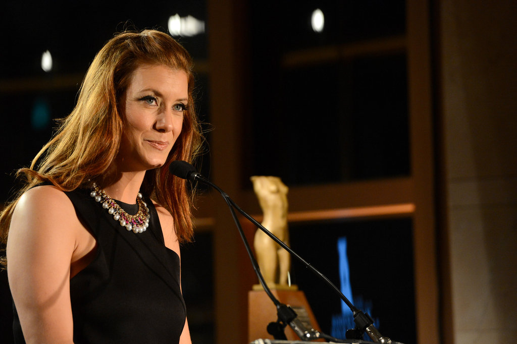 Kate Walsh spoke at the event.