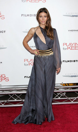 Jessica Biel was on the red carpet in NYC.