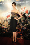 Anne Hathaway Debuts a New Dress For Les Mis's Postpremiere Bash