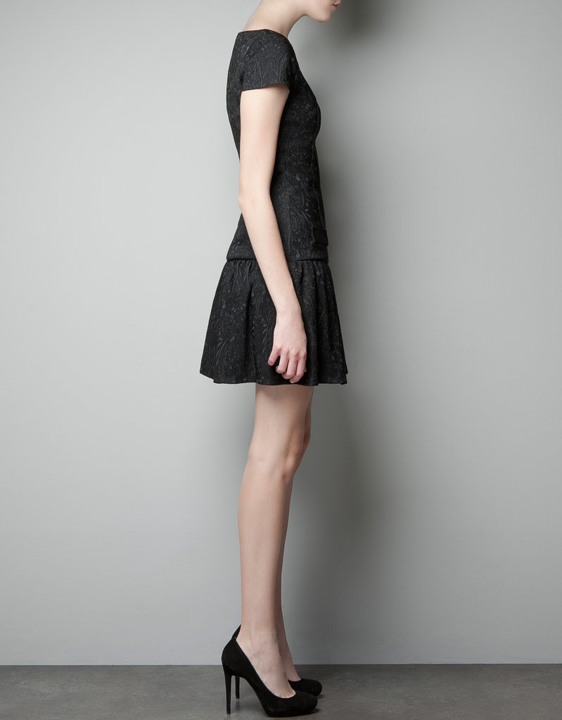 Channel one of the season's biggest trends with this Zara Brocade Dress ($90) — festive, but understated.