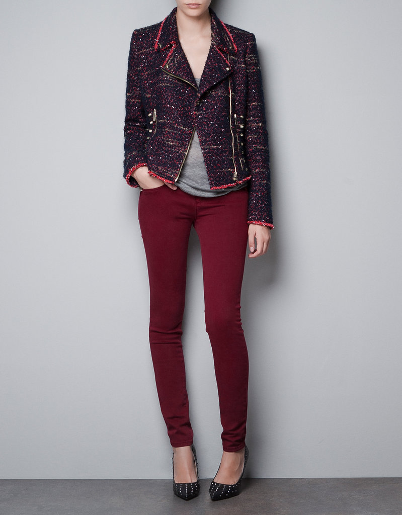 This Zara Studded Blazer ($90) is festive with edge. It'll bump up your LBD to cool-girl status.
