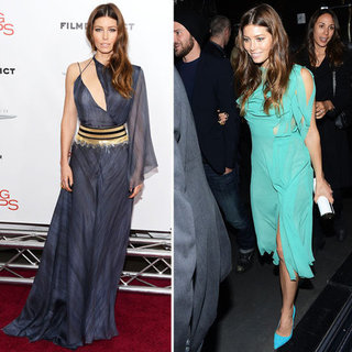 Jessica Biel at Playing For Keeps NYC Premiere
