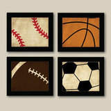 Sadie's Canvas Vintage Sports Prints