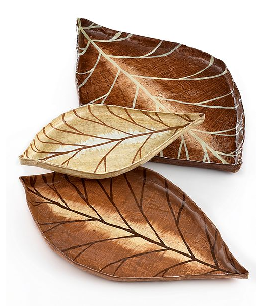 Get the look and dress up your table with a set of Spice Nesting Trays ($50, originally $65).