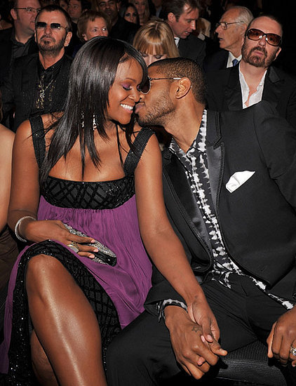 Usher and Tameka Foster, 2008