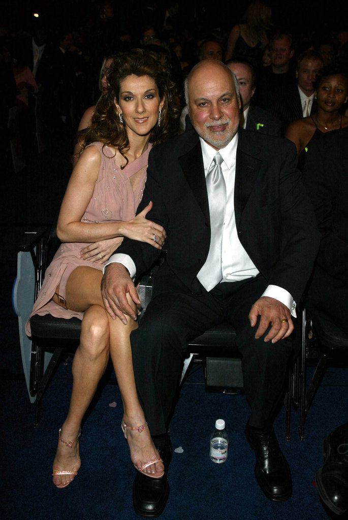 René Angélil and Celine Dion, 2002