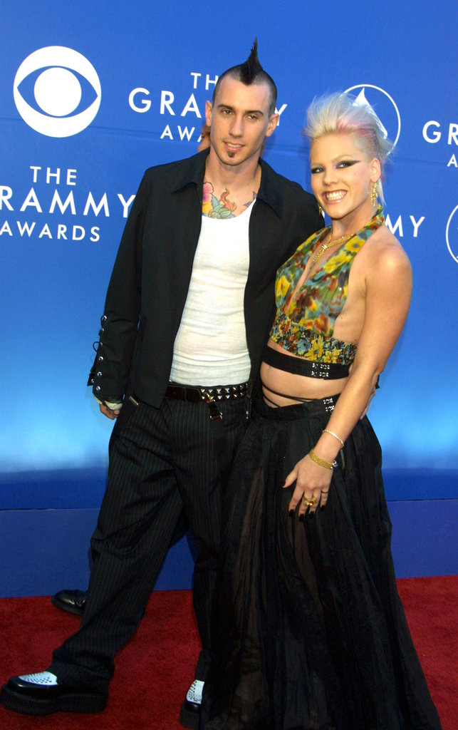Pink and Carey Hart, 2002