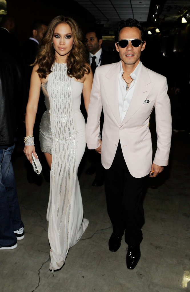 Jennifer Lopez and Marc Anthony, 2010