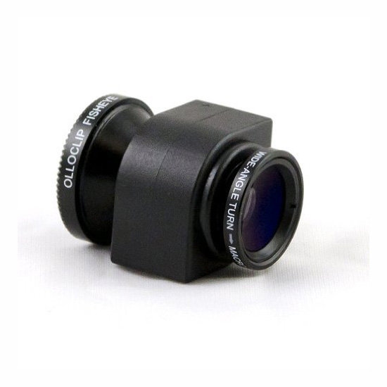 Olloclip 3-in-1 Lens for iPhone 4 & iPhone 4S, approx. $67