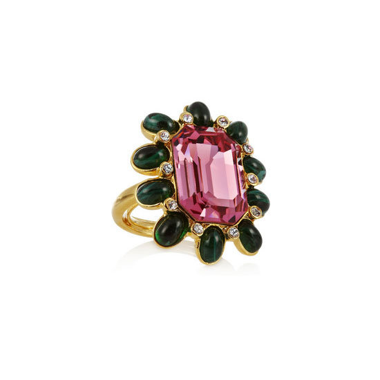 Ring, approx $95, Kenneth Jay Lane at Net-a-Porter