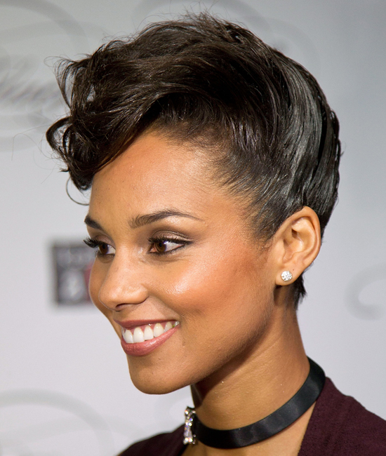 Hairstyle Short Hair Updos